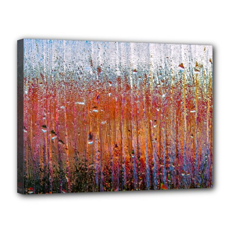 Glass Colorful Abstract Background Canvas 16  X 12  by BangZart