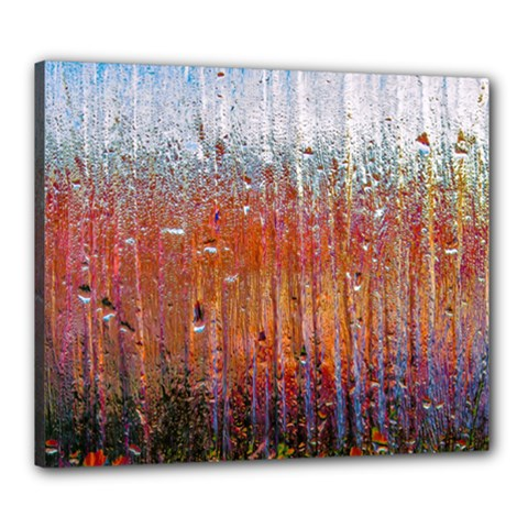 Glass Colorful Abstract Background Canvas 24  X 20  by BangZart