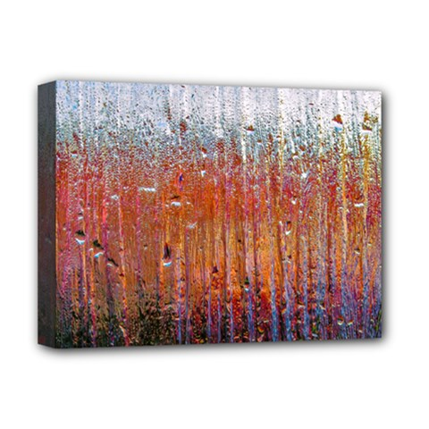 Glass Colorful Abstract Background Deluxe Canvas 16  X 12   by BangZart
