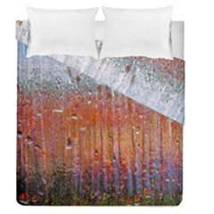 Glass Colorful Abstract Background Duvet Cover Double Side (queen Size)