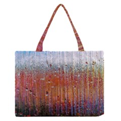 Glass Colorful Abstract Background Zipper Medium Tote Bag