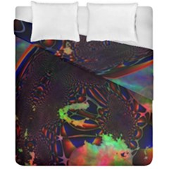 The Fourth Dimension Fractal Duvet Cover Double Side (california King Size)