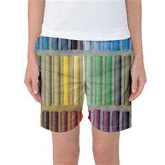 Pastels Cretaceous About Color Women s Basketball Shorts