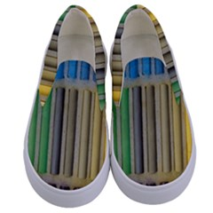Pastels Cretaceous About Color Kids  Canvas Slip Ons
