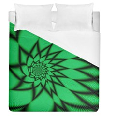 The Fourth Dimension Fractal Duvet Cover (queen Size)