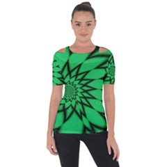 The Fourth Dimension Fractal Short Sleeve Top