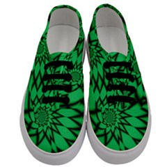 The Fourth Dimension Fractal Men s Classic Low Top Sneakers