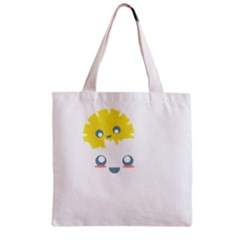Cloud Cloudlet Sun Sky Milota Zipper Grocery Tote Bag