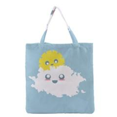 Cloud Cloudlet Sun Sky Milota Grocery Tote Bag by BangZart