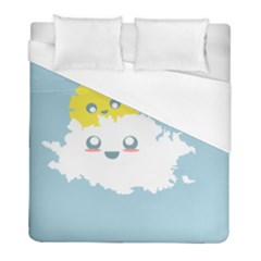 Cloud Cloudlet Sun Sky Milota Duvet Cover (full/ Double Size)