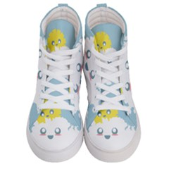 Cloud Cloudlet Sun Sky Milota Men s Hi Top Skate Sneakers