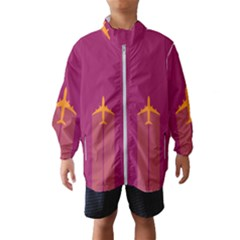 Airplane Jet Yellow Flying Wings Wind Breaker (kids)