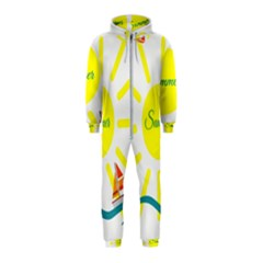 Summer Beach Holiday Holidays Sun Hooded Jumpsuit (kids)