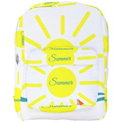 Summer Beach Holiday Holidays Sun Full Print Backpack