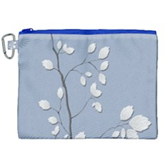 Branch Leaves Branches Plant Canvas Cosmetic Bag (xxl) by BangZart