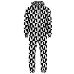 Triangle Pattern Simple Triangular Hooded Jumpsuit (men)