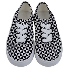 Triangle Pattern Simple Triangular Kids  Classic Low Top Sneakers