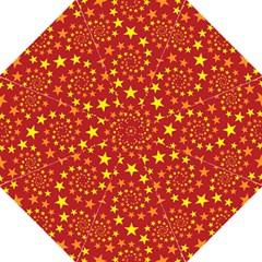Star Stars Pattern Design Hook Handle Umbrellas (medium)