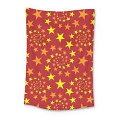 Star Stars Pattern Design Small Tapestry