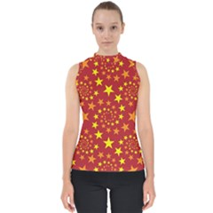 Star Stars Pattern Design Shell Top