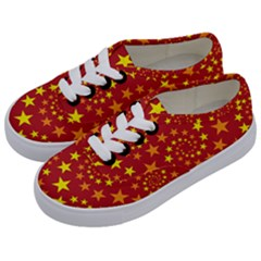 Star Stars Pattern Design Kids  Classic Low Top Sneakers by BangZart