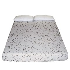 Pattern Star Pattern Star Fitted Sheet (queen Size)