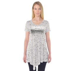 Pattern Star Pattern Star Short Sleeve Tunic