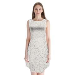 Pattern Star Pattern Star Sleeveless Chiffon Dress