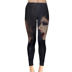 Vampire Woman Vampire Lady Leggings  by BangZart