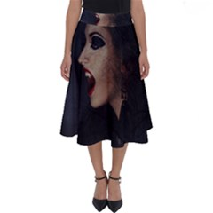 Vampire Woman Vampire Lady Perfect Length Midi Skirt