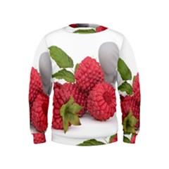 Fruit Healthy Vitamin Vegan Kids  Sweatshirt