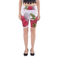 Fruit Healthy Vitamin Vegan Yoga Cropped Leggings