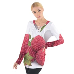Fruit Healthy Vitamin Vegan Tie Up Tee