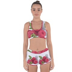 Fruit Healthy Vitamin Vegan Racerback Boyleg Bikini Set