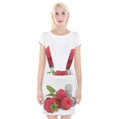 Fruit Healthy Vitamin Vegan Braces Suspender Skirt