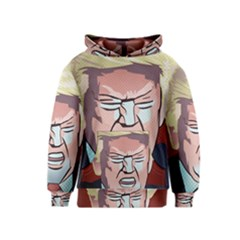 Donald Trump Pop Art President Usa Kids  Pullover Hoodie