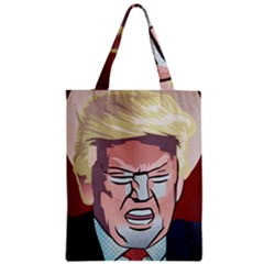 Donald Trump Pop Art President Usa Zipper Classic Tote Bag
