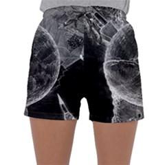 Space Universe Earth Rocket Sleepwear Shorts