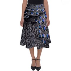 Feather Bird Bird Feather Nature Perfect Length Midi Skirt