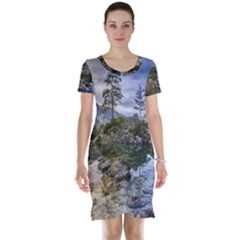 Hintersee Ramsau Berchtesgaden Short Sleeve Nightdress