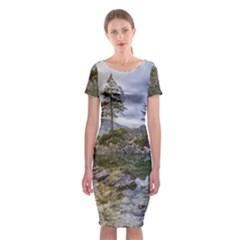 Hintersee Ramsau Berchtesgaden Classic Short Sleeve Midi Dress