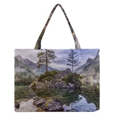 Hintersee Ramsau Berchtesgaden Zipper Medium Tote Bag