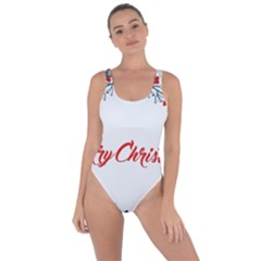 Merry Christmas Christmas Greeting Bring Sexy Back Swimsuit by BangZart