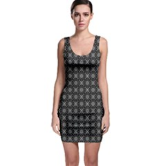 Kaleidoscope Seamless Pattern Bodycon Dress