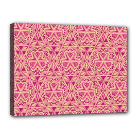 Tribal Pattern Hand Drawing Canvas 16  X 12  by Cveti