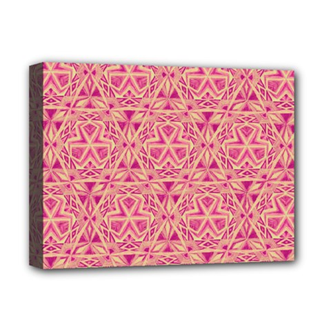 Tribal Pattern Hand Drawing Deluxe Canvas 16  X 12   by Cveti
