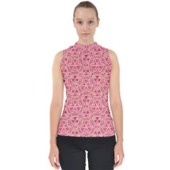 Tribal Pattern Hand Drawing Shell Top by Cveti