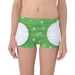 Christmas Bauble Ball Boyleg Bikini Bottoms