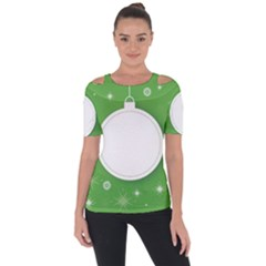 Christmas Bauble Ball Short Sleeve Top