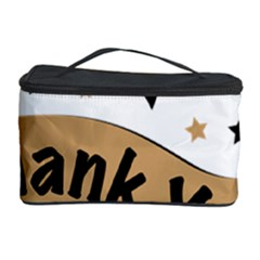 Thank You Lettering Thank You Ornament Banner Cosmetic Storage Case by BangZart